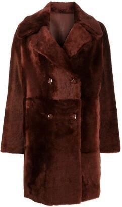 Liska Reversible Double-Breasted Coat