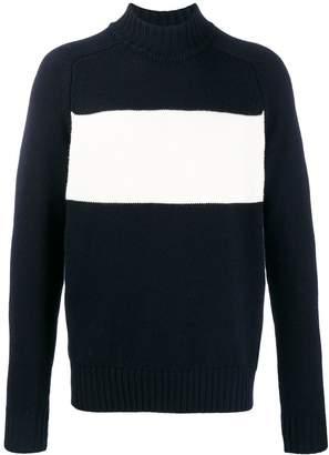 Woolrich block panel jumper