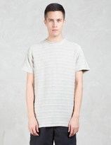 Norse Projects Niels Textured Stripe S/S T-Shirt