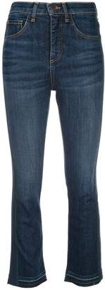 Veronica Beard high rise cropped jeans