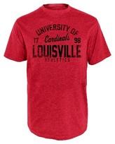 NCAA Louisville Cardinals Men's Heather T-Shirt