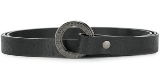 Fumito Ganryu Circle Buckle Belt