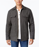 Club Room Men's Fleece Lined Shirt Jacket, Only at Macy's