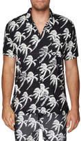 Double Rainbouu Blow Out S/S Hawaiian Shirt