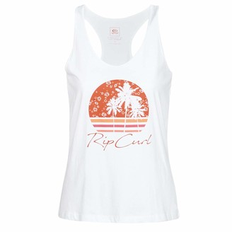 Rip Curl Beach Vibes Tank Vest Large White
