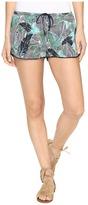 Roxy Mystic Topaz Printed Short Women's Shorts