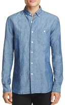 Todd Snyder Chambray Regular Fit Button-Down Shirt