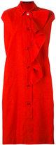 Sofie D'hoore frill placket shirt dress - women - Cotton - 38