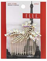 Elle Iridescent Rhinestone and Gold Side Comb