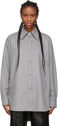 Acne Studios Grey Flannel Sarwin Shirt