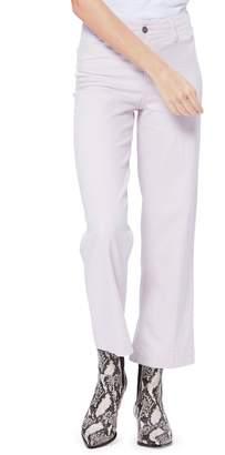 Paige Cotton Blend Cropped Pants