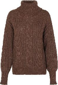 Levete Room - Kassie Chunky Knit Jumper - Caraffe - Size XS (UK 8)