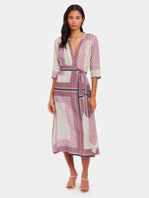 XiRENA Joni Silk Blend Midi Dress