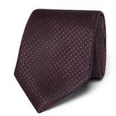 Canali 8cm Silk-Jacquard Tie