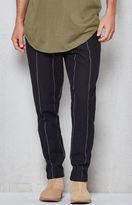 PacSun Slim Taper Crop Pinstripe Trouser Pants