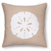 Threshold Brown Linen Sand Dollar Throw Pillow