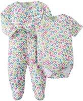 Kissy Kissy Qt Pop Fizz Footie & Bodysuit (Baby) - Fuschia-0-3 Months
