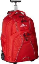 High Sierra Freewheel Wheeled Backpack Backpack Bags
