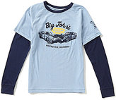 Lucky Brand Big Boys 8-20 Big Johns Long-Sleeve Tee