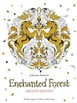 Chronicle Books 'Enchanted Forest - Artist's Edition' Coloring Book