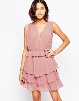Greylin Chennai Ruffle Mini Dress