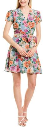 Yumi Kim Silk-Blend Wrap Dress