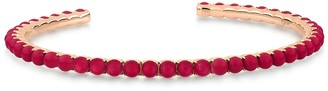 ginette_ny Maria Open Coral Cuff Bracelet - Rose Gold