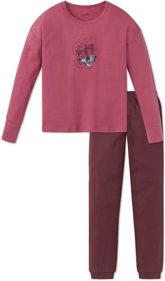Schiesser Girls' Rebel Madchen Anzug lang Pyjama Sets
