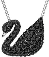 Swarovski Women's Stainless Steel Crystal Necklace & Pendant Chain
