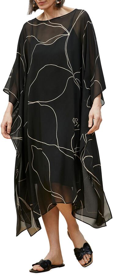 Thumbnail for your product : Lafayette 148 New York Maeve Kaftan Dress