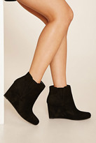 Forever 21 FOREVER 21+ Faux Suede Wedges