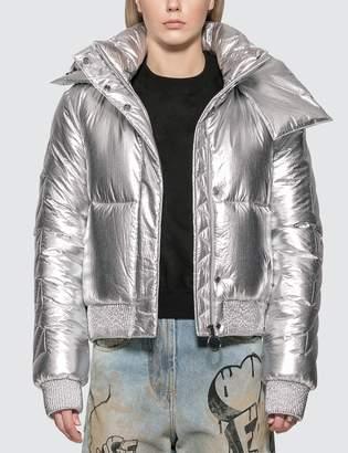 Off-White Off White Silver Down Jacket