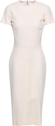 Victoria Beckham Silk And Wool-blend Dress