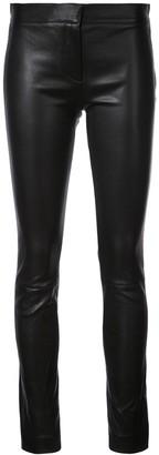 Derek Lam leather Hanne leggings