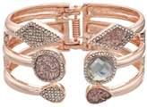 JLO by Jennifer Lopez Geometric Hinged Cuff Bracelet