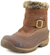 The North Face Chilkat III Pull-On Winter Boot Women's Rain Drum Brown/Mediterranea Green 8.5