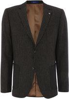 Peter Werth Men's Jonny Wide Stripe Patch Pocket Blazer