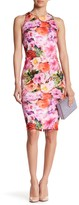 Alexia Admor High Neck Floral Print Dress