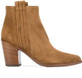 Sartore mid heel ankle boots - women - Suede/Leather - 37.5
