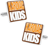 """Cufflinks Inc. Men's Browns """"Kardiac Kids"""" Cufflinks"""