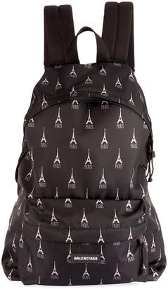 Balenciaga Men's Eiffel Tower Backpack