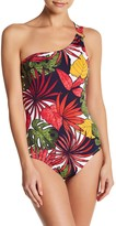 Tommy Bahama Remy One Shoulder One-Piece Swimsuit