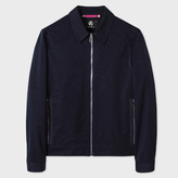 Paul Smith Men's Navy Cotton-Blend Blouson Jacket