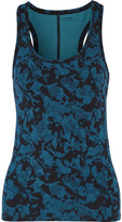 Yummie by Heather Thomson Maria Printed Stretch-Cotton Tank