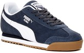 Puma Roma Suede Retro Sneaker (Big Kid)