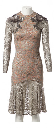 Matthew Williamson Gold Viscose Dresses