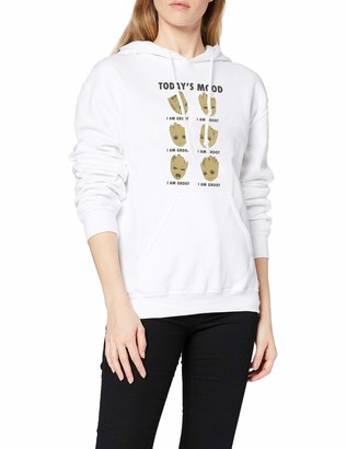 Marvel Women's Guardians of The Galaxy Vol 2 Groot Today's Mood Hoodie