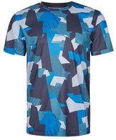 Topman Blue Geo Sports T-Shirt