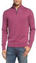 Bonobos Men's Cotton & Cashmere Quarter Zip Sweater