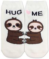 Forever 21 Hug Me Sloth Ankle Socks